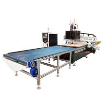 woodworking machine for panel furniture